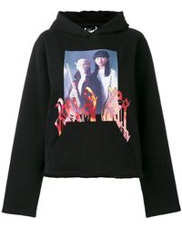 P.a.m. Perks And Mini - Front Printed Hoodie - Lyst