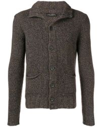 Dell'Oglio - Knitted Cardigan - Lyst
