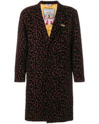 Gcds - Leopard Print Coat - Lyst
