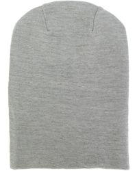 S.N.S Herning - Knitted Beanie Hat - Lyst