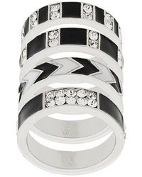 Saint Laurent - Smoking Ring Set - Lyst