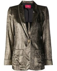 F.R.S For Restless Sleepers - Metallic Blazer - Lyst