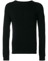 Low Brand - Classic Knitted Sweater - Lyst