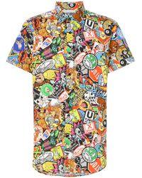 Moschino   Hyper-print Shirt   Lyst