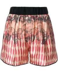Forte Forte - Multi Print Shorts - Lyst
