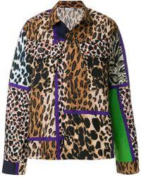 Pierre Louis Mascia - Leopard Print Shirt Jacket - Lyst