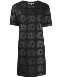 McQ - Angry Eyes T-shirt Dress - Lyst