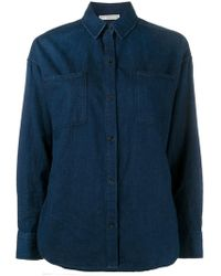 Vince - Long Sleeve Shirt - Lyst