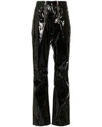 GmbH - Vinyl Trousers - Lyst