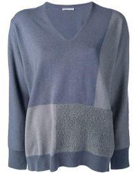 Filippi Brown In Knit Zip Side Fabiana Lyst Sweater xqW5w807nS