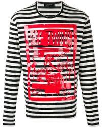 DSquared² - Sweatshirt mit ''64 Twins''-Print - Lyst