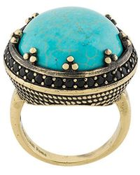 Iosselliani - Elegua Turquoise Ring - Lyst
