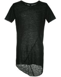 Army Of Me - Longline High Low T-shirt - Lyst