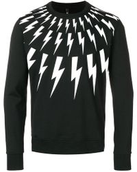 Neil Barrett - Bolt Sweatshirt - Lyst