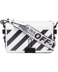 Off-White c/o Virgil Abloh - Mini Clip Diagonal Stripe Cross-body Bag - Lyst