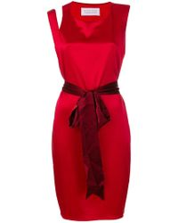 Gianluca Capannolo - Flared Fitted Dress - Lyst