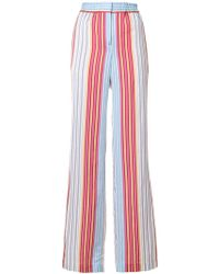 PS by Paul Smith - Striped Wide-leg Trousers - Lyst