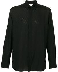 Saint Laurent - Textured Shirt - Lyst