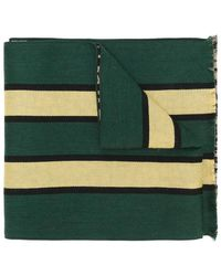 Palm Angels - Patterned Scarf - Lyst