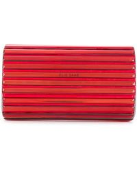 Elie Saab - Metallic Clutch Bag - Lyst