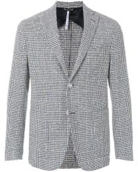 Entre Amis - Checked Style Jacket - Lyst