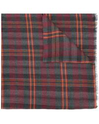Fashion Clinic - Plaid Scarf - Lyst