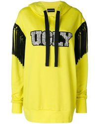 Marco Bologna - Ugly Diamante And Tassel Trim Hoody - Lyst