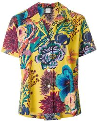Paul Smith - Floral Print Boxy Shirt - Lyst