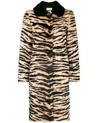 RED Valentino - Animal Print Coat - Lyst