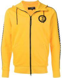 Hydrogen - Contrast Logo Hooded Jacket - Lyst