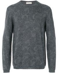 Etro - Stylized Printed Sweatshirt - Lyst