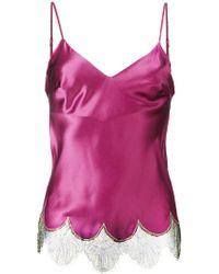 Gilda & Pearl Lace Trim Camisole