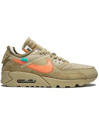 Nike - The 10: Off White X Air Max 90 Sneakers - Lyst