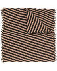 Faliero Sarti Striped Scarf - Multicolor