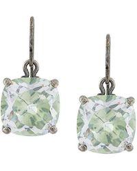 Bottega Veneta - Stone Drop Earrings - Lyst