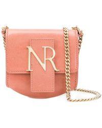 Nina Ricci - Logo Plaque Mini Shoulder Bag - Lyst