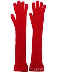 Emilio Pucci - Long Gloves - Lyst