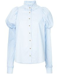 Macgraw - Shakespeare Shirt With Heart Appliqués - Lyst