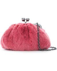 Weekend by Maxmara - Medium Pasticcino Fur Bag - Lyst