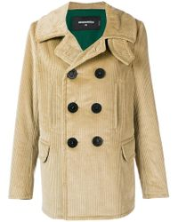 DSquared² - Double-breasted Coat - Lyst