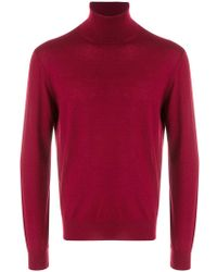Canali - Roll Neck Sweatshirt - Lyst