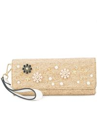 Christian Siriano - Straw Clutch - Lyst