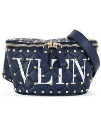 Valentino - Garavani Rockstud Spike Belt Bag - Lyst