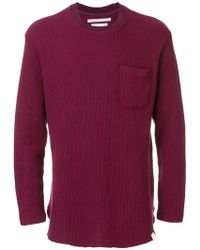 White Mountaineering - Classic Fitted Sweater - Lyst