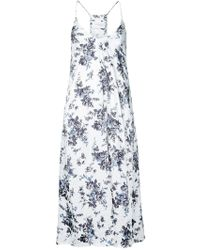 Strateas Carlucci - Botany Slip Dress - Lyst
