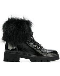 Baldinini - Fur Lining Ankle Boots - Lyst