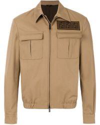 Fendi - Ff Patch Jacket - Lyst