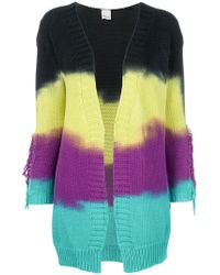 Pinko - Dye Striped Cardigan - Lyst