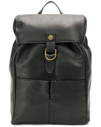 19dc56da61dca5 Vivienne Westwood - Pebbled Leather Backpack - Lyst