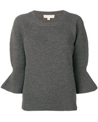 MICHAEL Michael Kors - Knitted 3/4 Jumper - Lyst